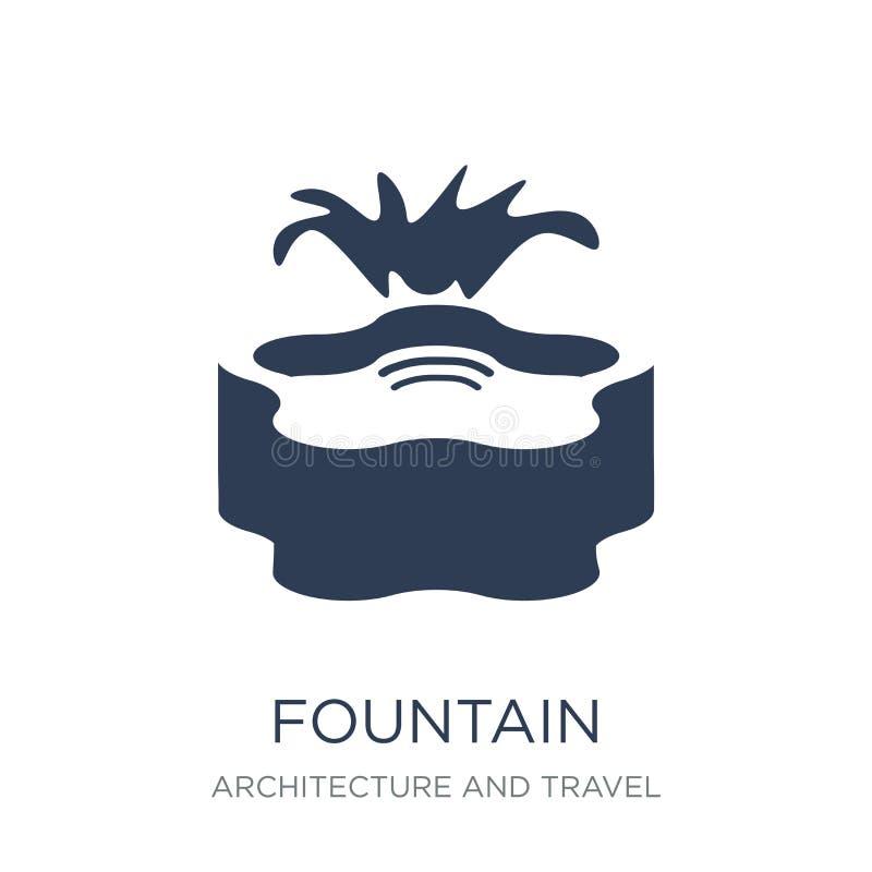 Icône de fontaine  illustration libre de droits