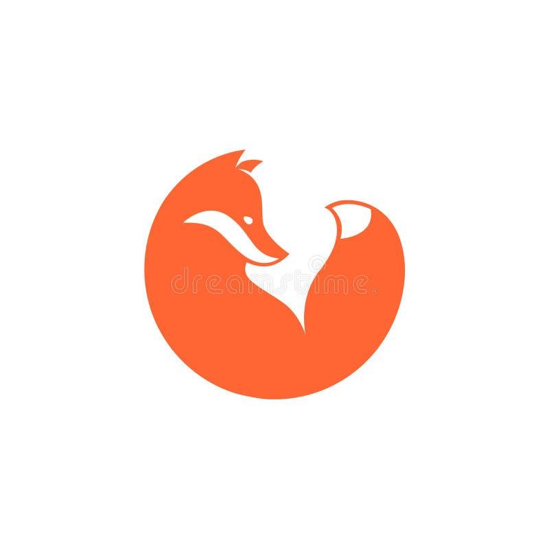 Icône de Fox Vecteur illustration stock