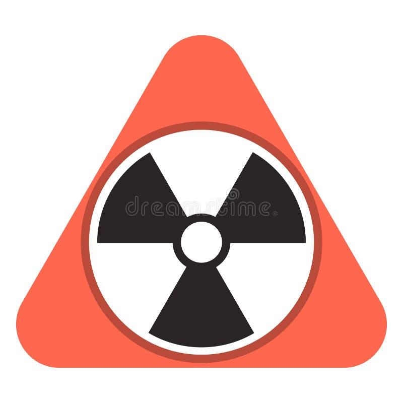 Icône de gaz de radon, style de bande dessinée illustration stock
