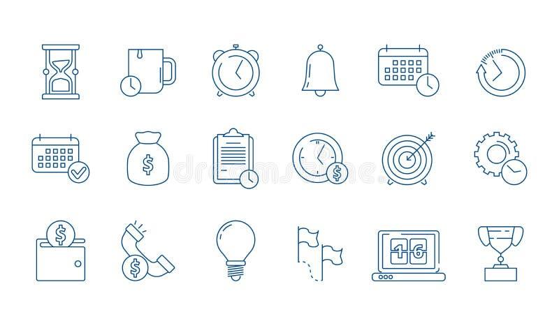 Icône de gestion E illustration libre de droits