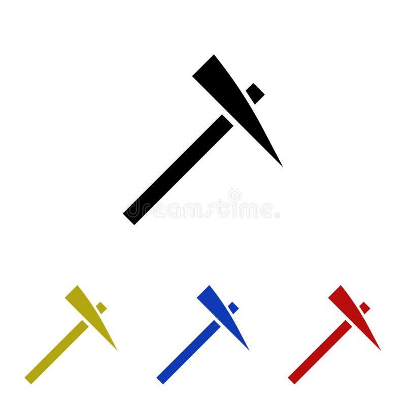 Icône de glyph de sélection illustration stock