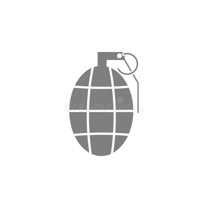 Icône de grenade à main illustration de vecteur