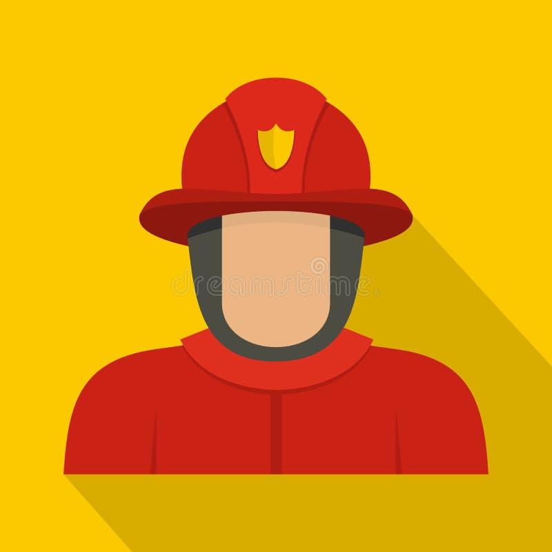 Icône de héros, style plat illustration libre de droits