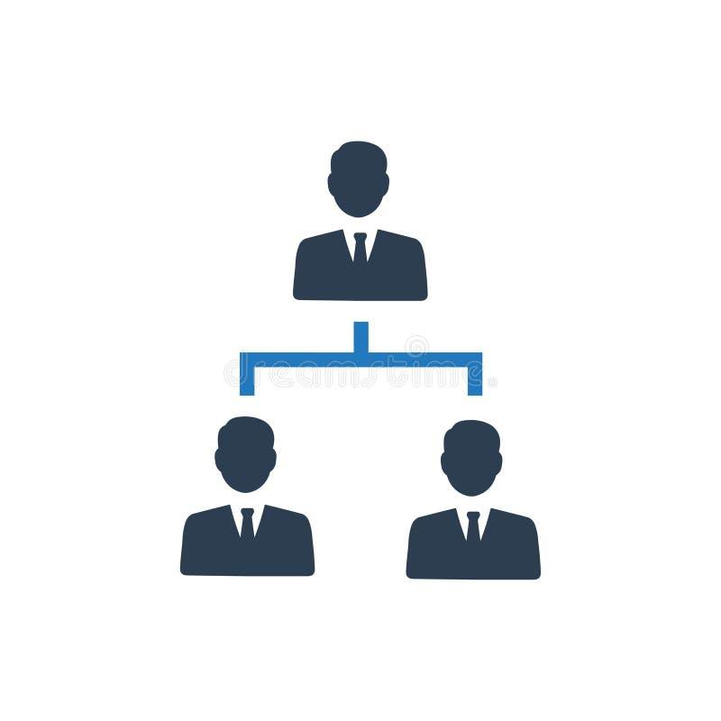 Icône de hiérarchie illustration stock