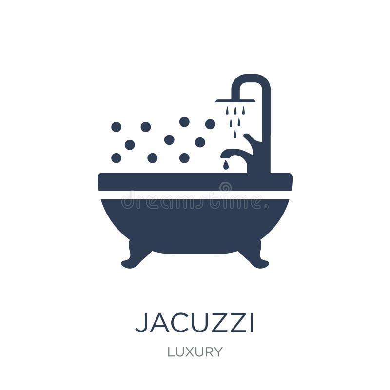 icône de jacuzzi  illustration stock