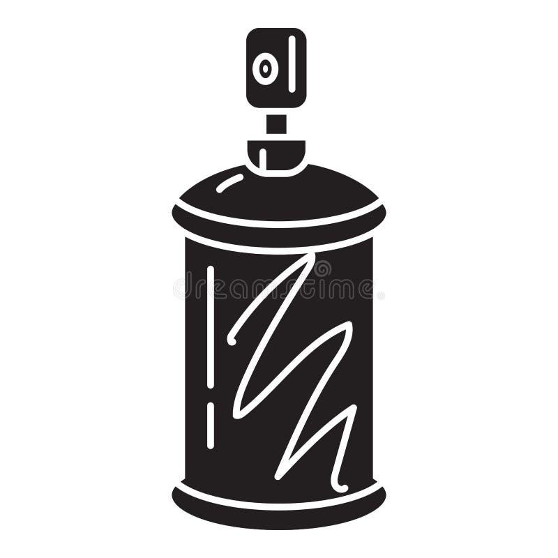 Icône de jet de peinture, style simple illustration de vecteur