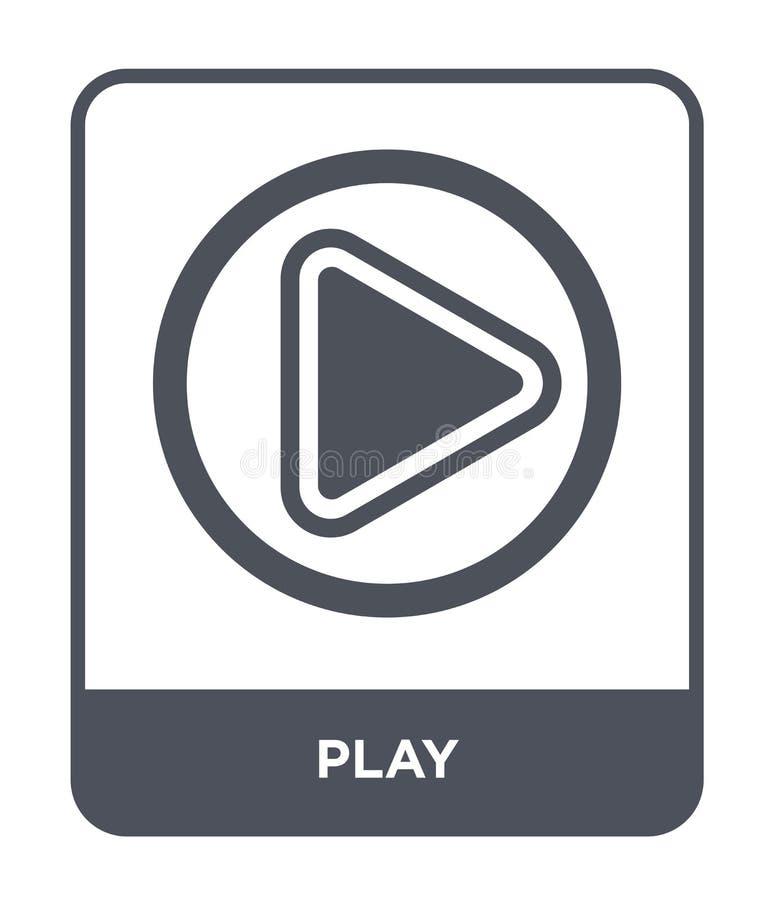 icône de jeu dans le style à la mode de conception Icône de jeu d'isolement sur le fond blanc symbole plat simple et moderne d'ic illustration libre de droits