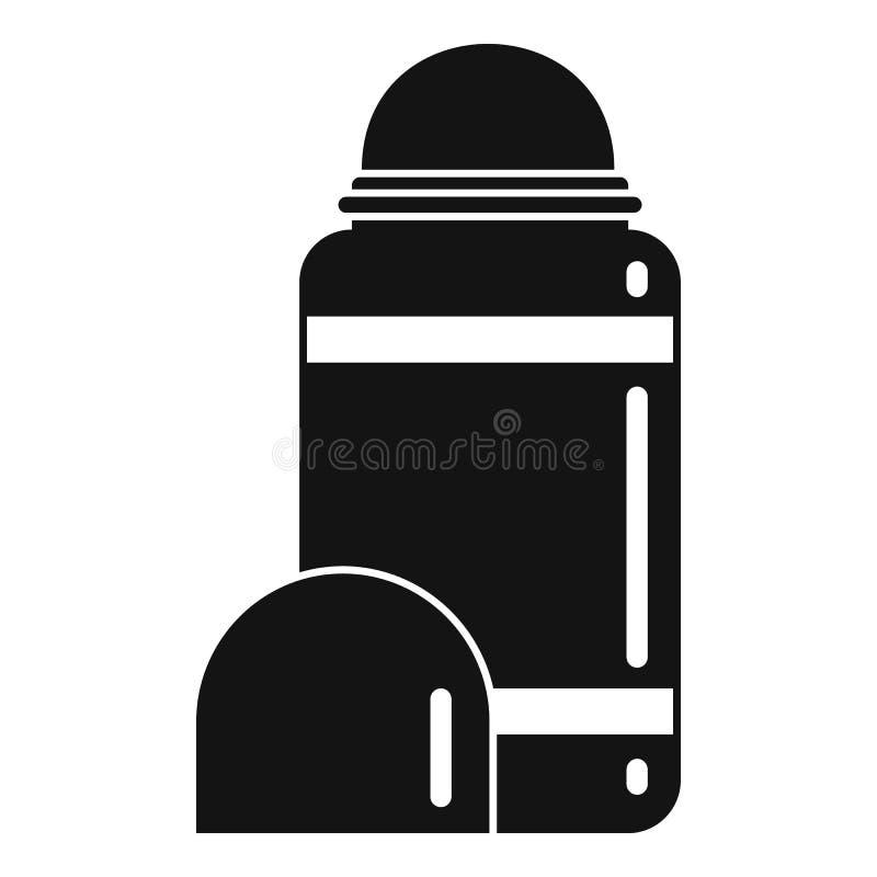 Icône de la molette, style simple illustration libre de droits