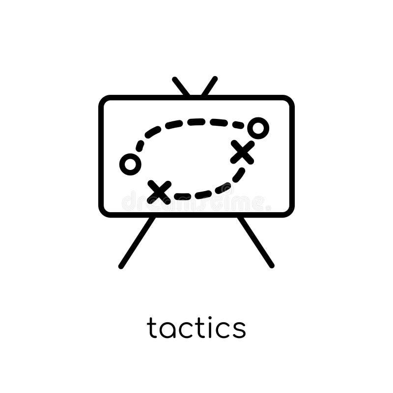Icône de la tactique de collection de productivité illustration stock