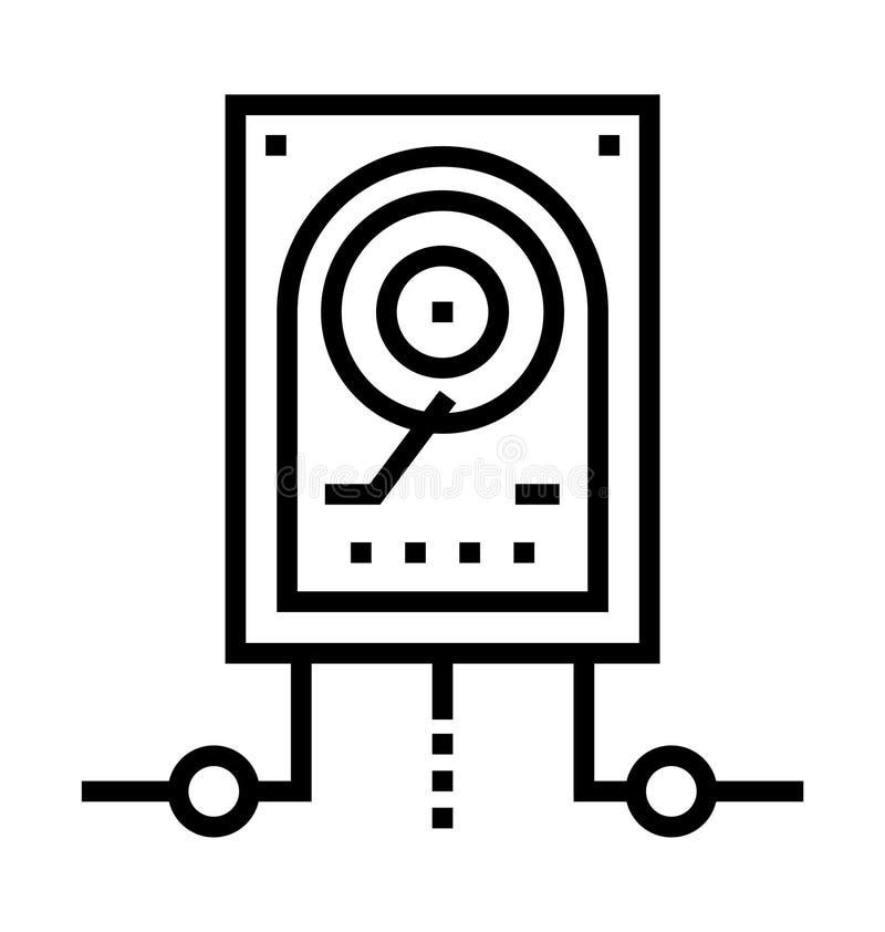 Icône de lecteur de disques illustration de vecteur