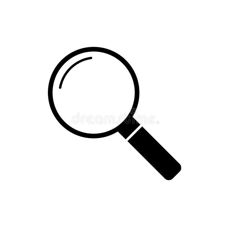 Icône de lentille, la meilleure icône de conception plate illustration de vecteur