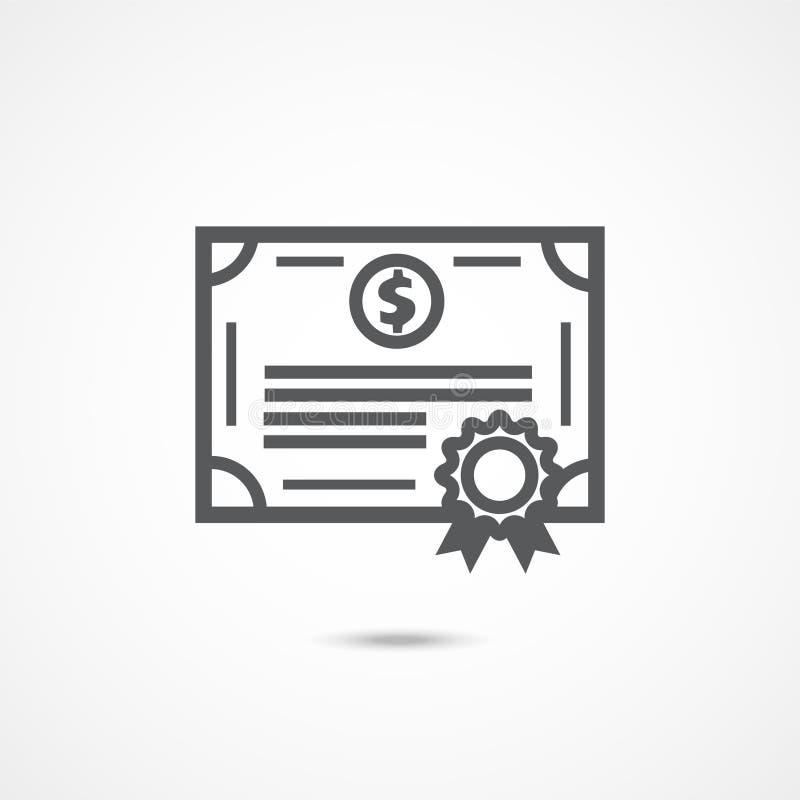Icône de liens sur le blanc illustration de vecteur