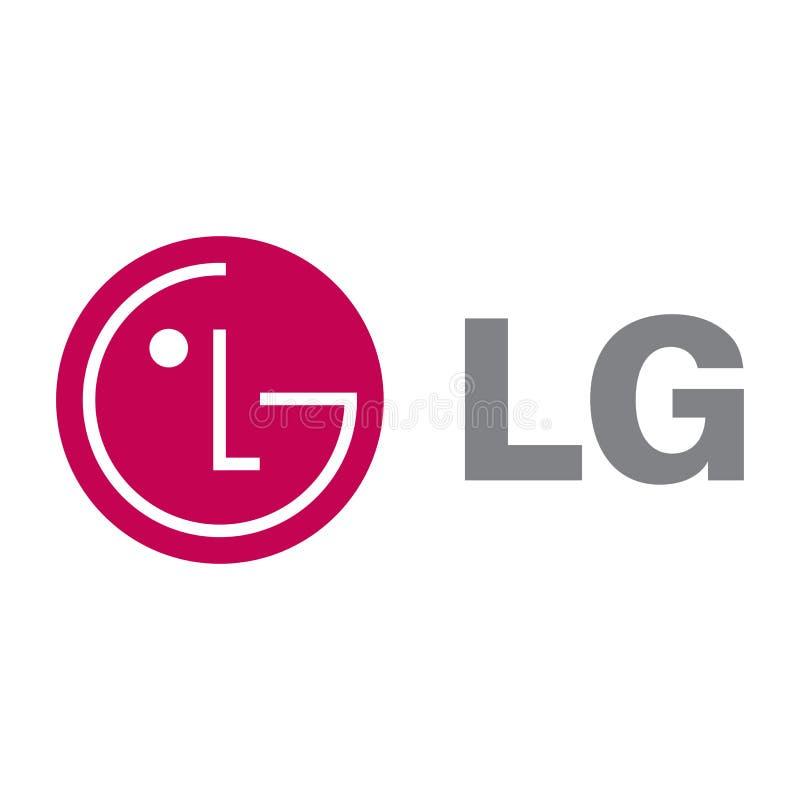 Icône de logo de LG Electronics illustration de vecteur