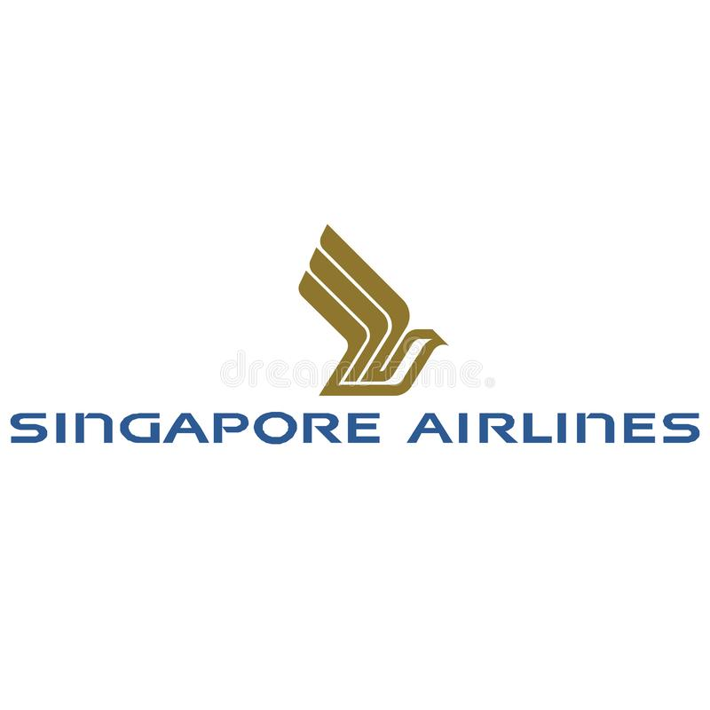 Icône de logo de Singapore Airlines illustration libre de droits