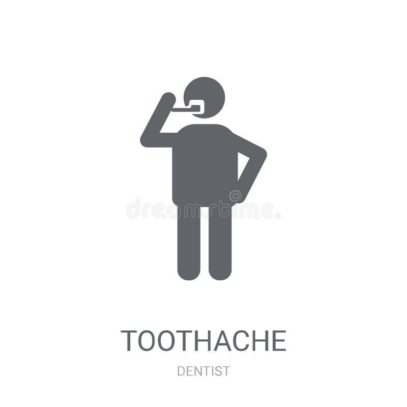icône de mal de dents  illustration de vecteur