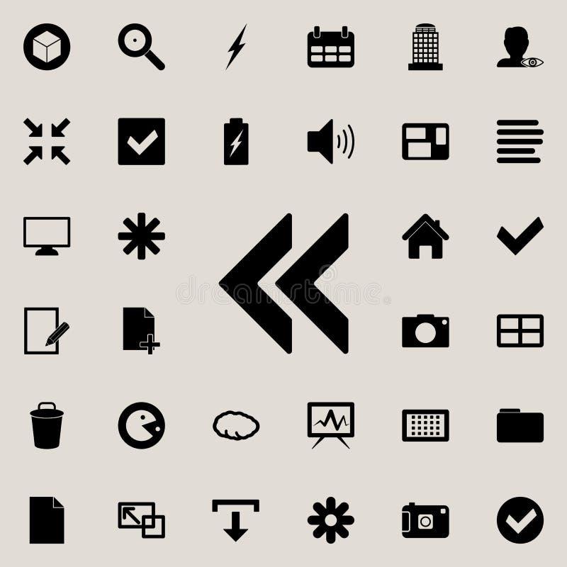 icône de marque d'hausse Ensemble détaillé d'icônes minimalistic Conception graphique de la meilleure qualité Une des icônes de c illustration de vecteur