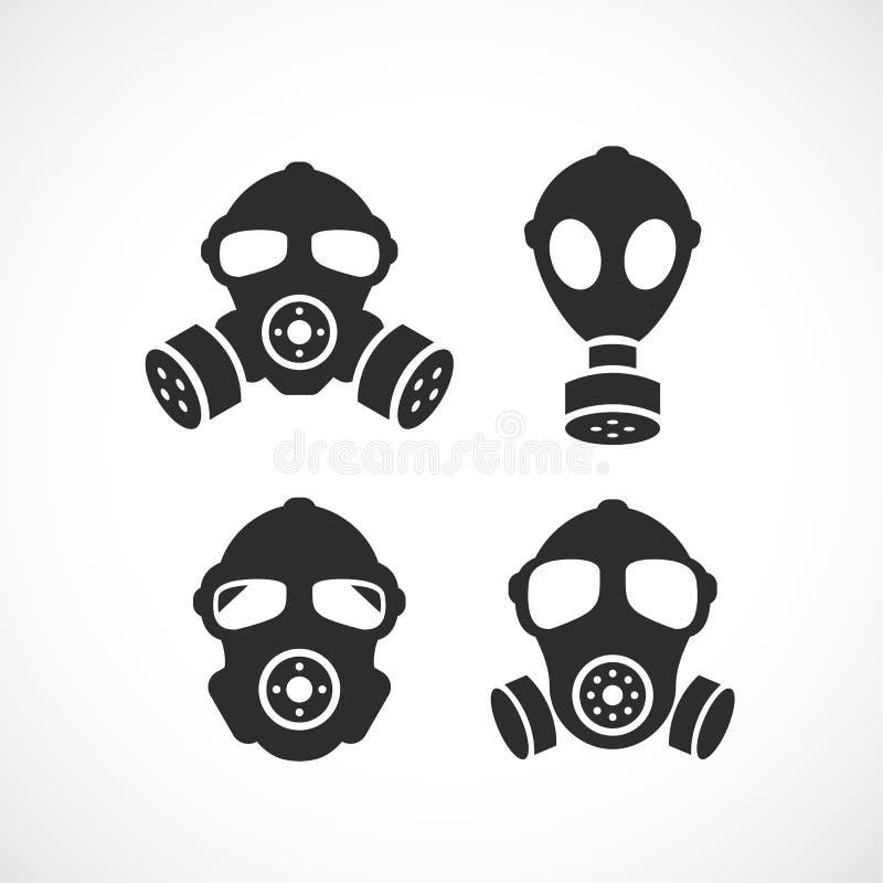 Icône de masque de gaz illustration libre de droits