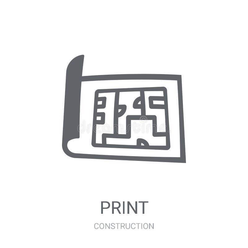 Icône de modèle  illustration stock