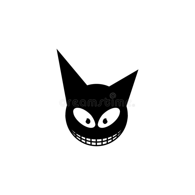 Icône de monstre Élément d'illustration d'éléments d'histoires d'horreur Icône de la meilleure qualité de conception graphique de illustration de vecteur