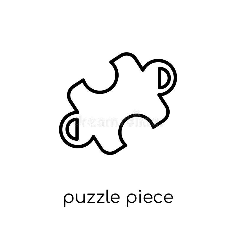 Icône de morceau de puzzle de collection de productivité illustration libre de droits
