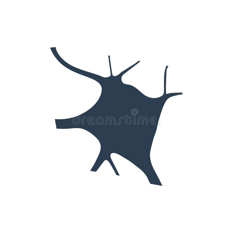 Icône de neurone illustration de vecteur
