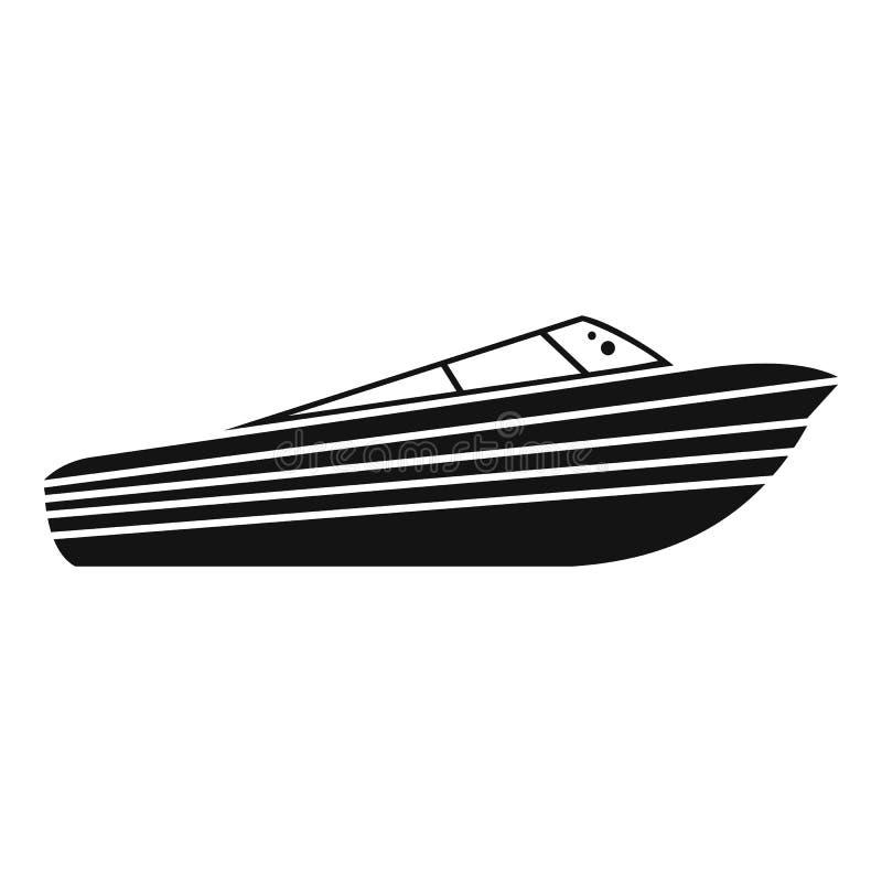 Icône de NOM, style simple illustration stock