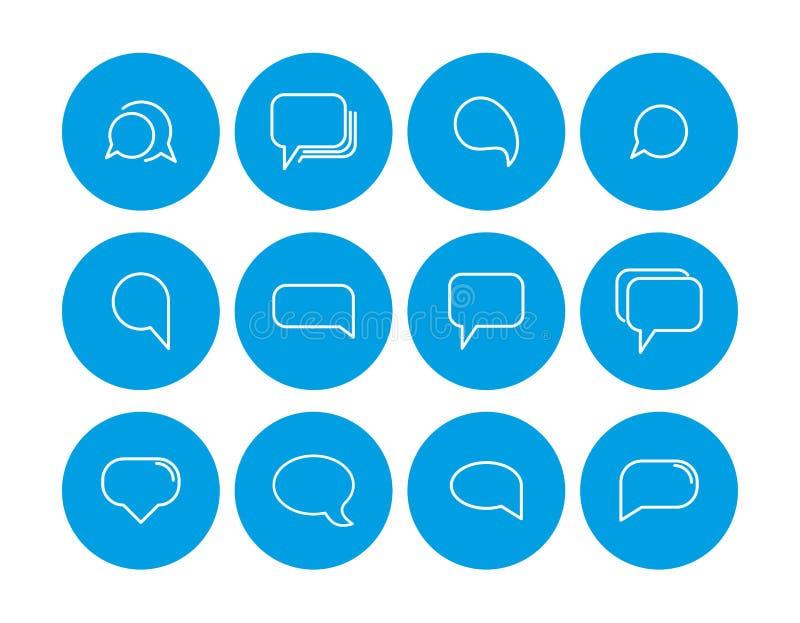 Icône de note de bas de page Placez des icônes de note de bas de page Ic?nes de communications Contactez-nous des graphismes illustration libre de droits