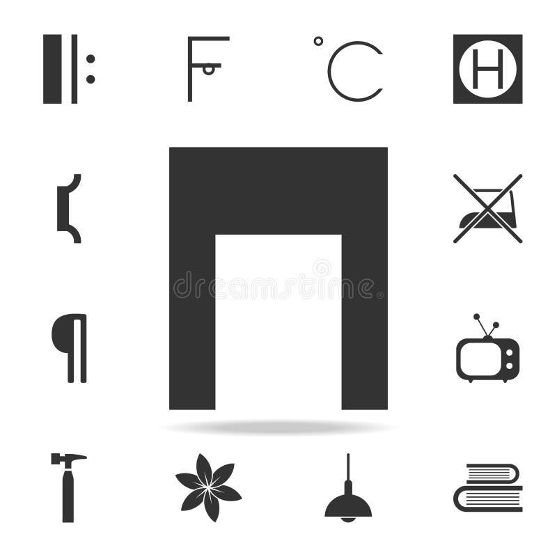Icône de note de musique Ensemble détaillé d'icônes et de signes de Web Conception graphique de la meilleure qualité Une des icôn illustration libre de droits