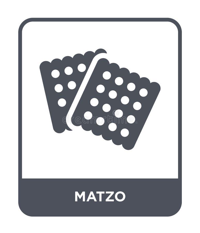 icône de pain azyme dans le style à la mode de conception icône de pain azyme d'isolement sur le fond blanc symbole plat simple e illustration libre de droits