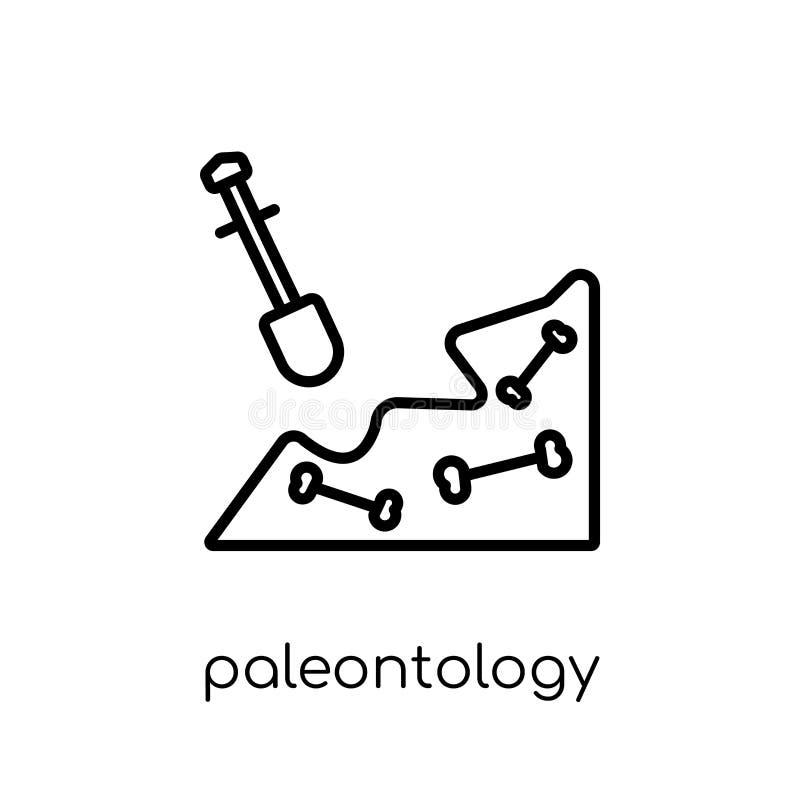 Icône de paléontologie  illustration stock