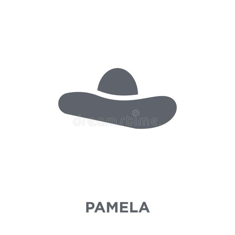 Icône de Pamela de collection illustration libre de droits