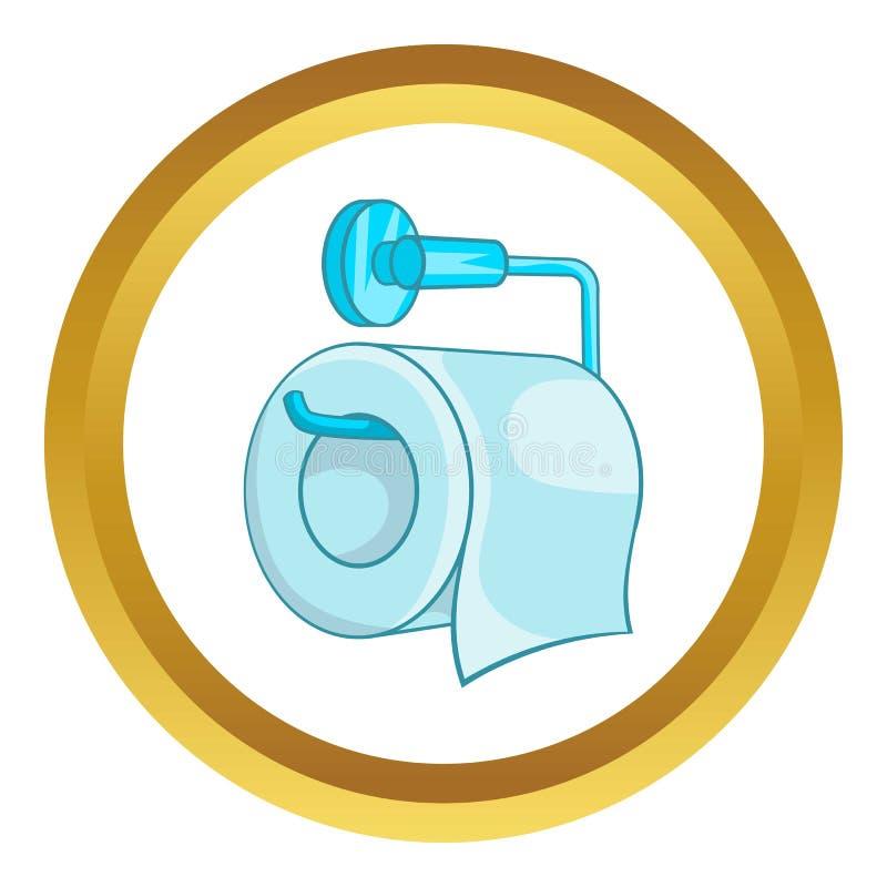 Icône de papier hygiénique illustration libre de droits