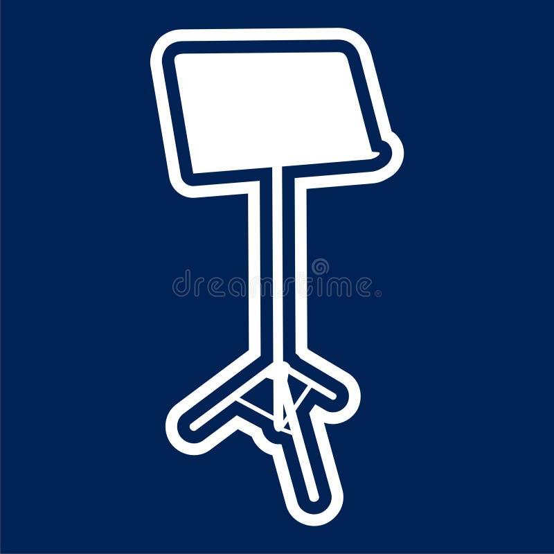 Icône de papier hygiénique - illustration illustration stock