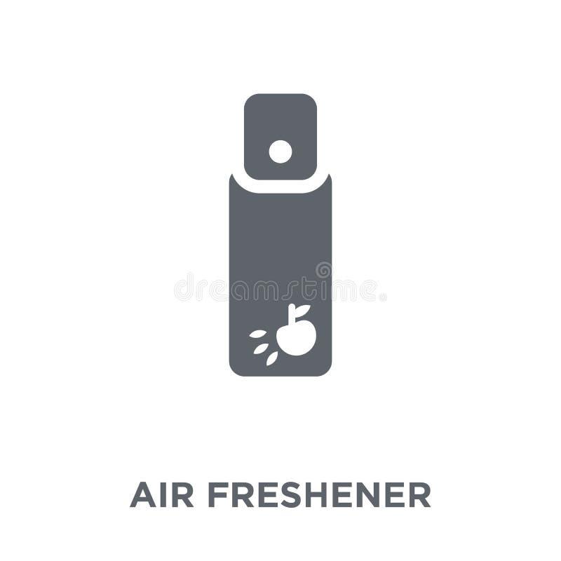 Icône de parfum d'ambiance de collection illustration de vecteur