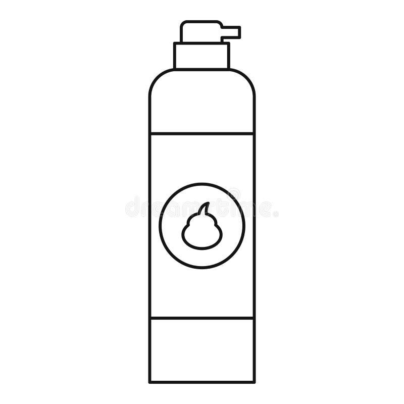 Icône de parfum d'ambiance, style d'ensemble illustration de vecteur