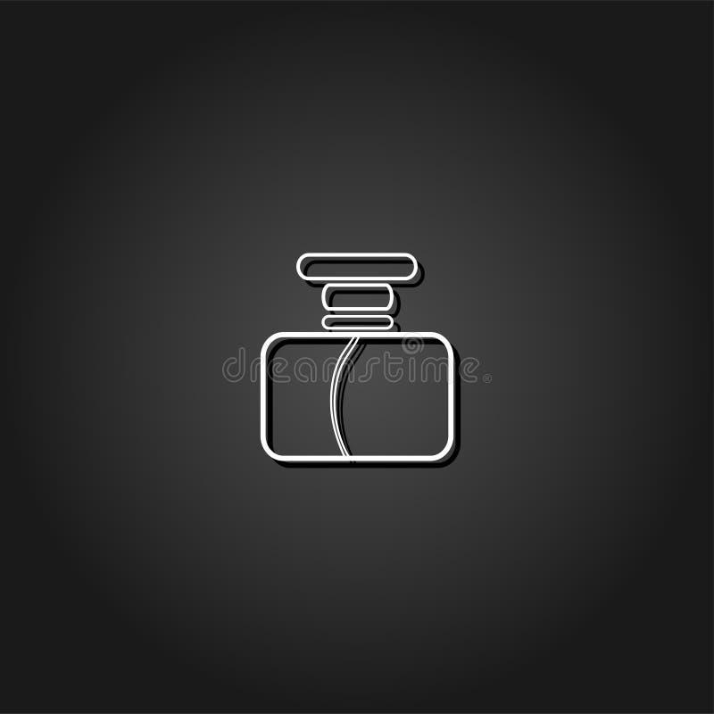 Icône de Parfume plate illustration libre de droits