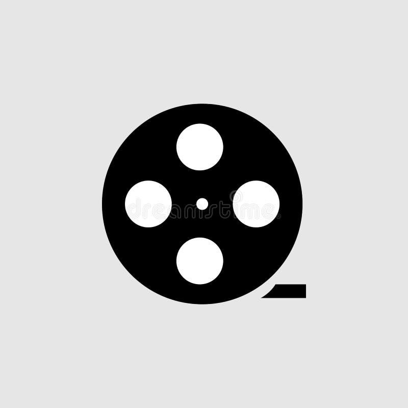 Icône de pellicule cinématographique Élément d'icône de théâtre pour des applis mobiles de concept et de Web L'icône détaillée de illustration de vecteur
