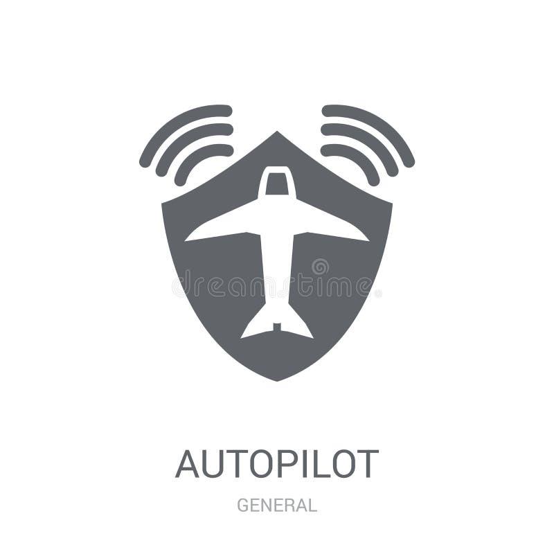 Icône de pilote automatique  illustration libre de droits