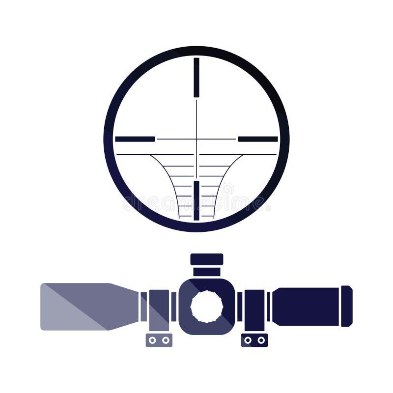 Icône de portée illustration de vecteur