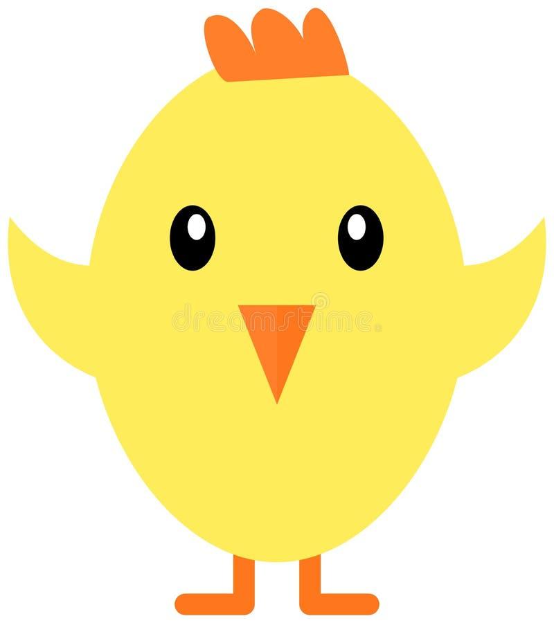 Icône de poulet de Pâques illustration libre de droits