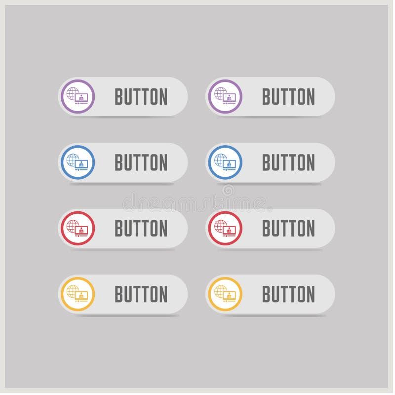 Icône de présentation illustration de vecteur