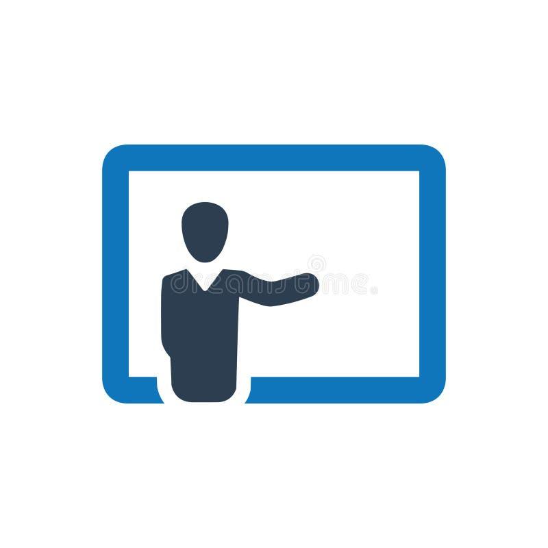 Icône de présentation d'affaires illustration libre de droits