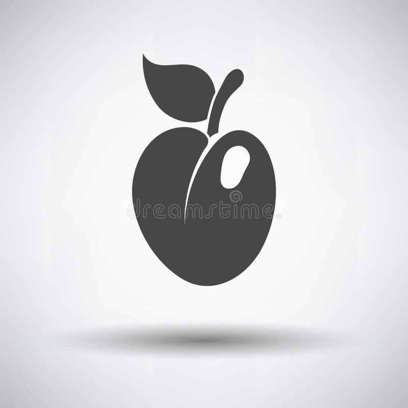 Icône de prune illustration stock