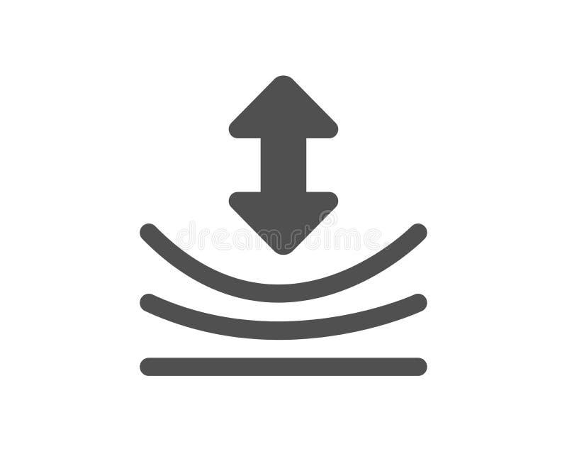 Icône de résilience Signe matériel élastique Vecteur illustration libre de droits