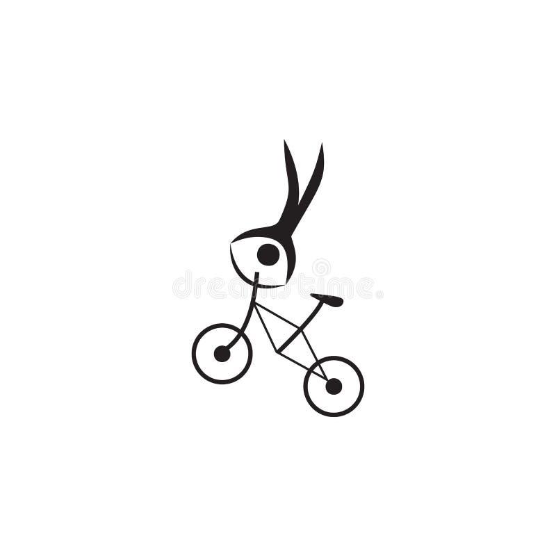 icône de recyclage extrême Éléments d'icône de sportif Icône de la meilleure qualité de conception graphique de qualité Signes et illustration libre de droits