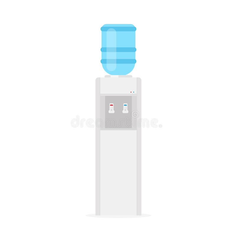 Icône de refroidisseur d'eau illustration libre de droits