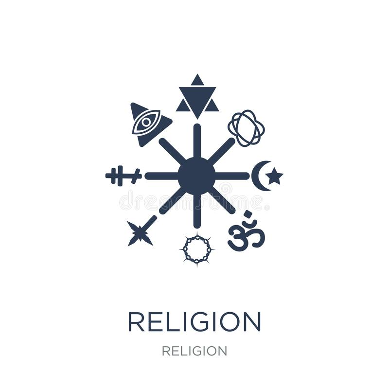 Icône de religion  illustration stock