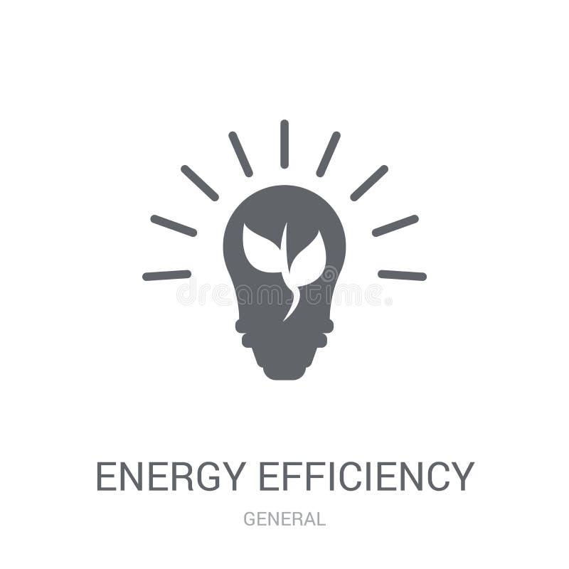 Icône de rendement énergétique  illustration stock