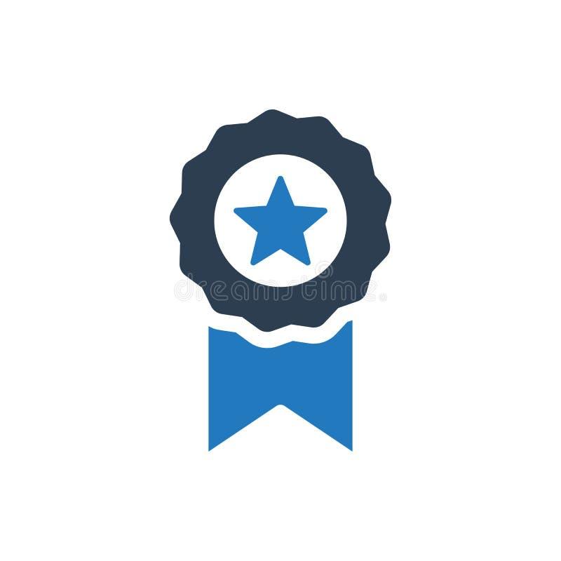 Icône de ruban de garantie de qualité illustration de vecteur