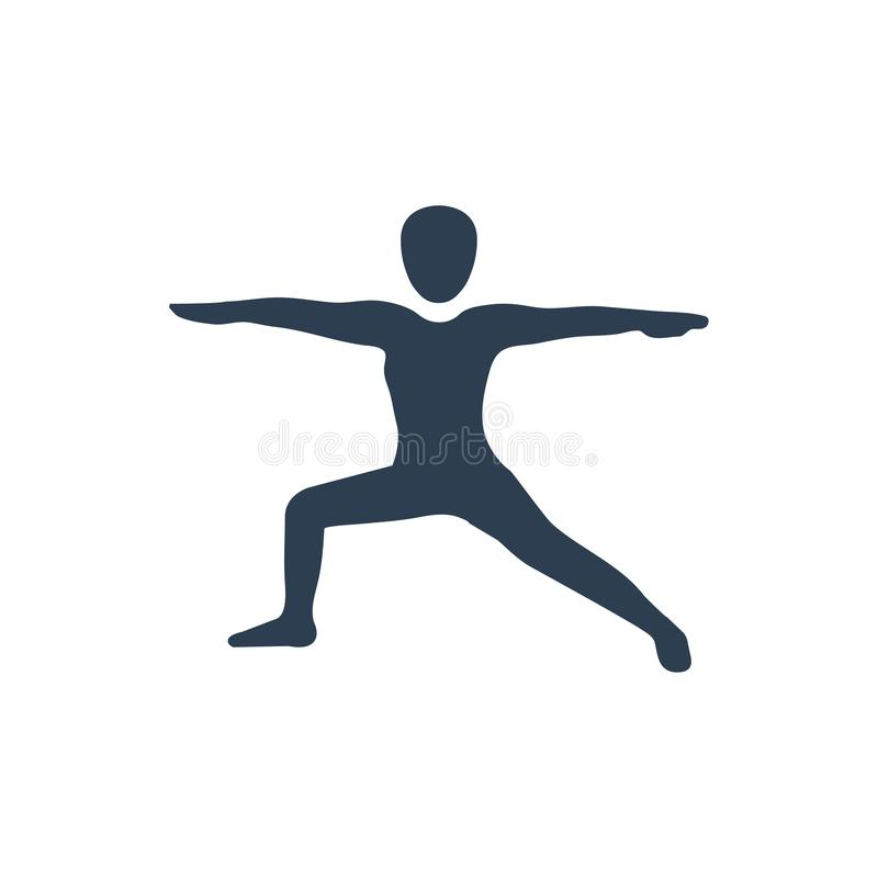 Icône de séance d'entraînement d'exercice illustration de vecteur